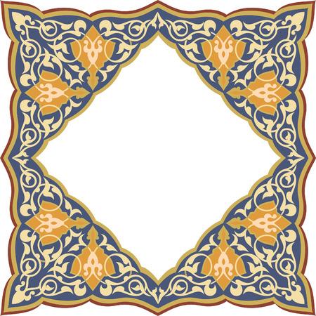 Ornamental seamless pattern in oriental style Stock Vector - 24003828