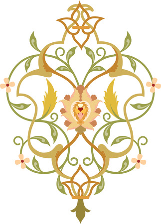 Elegant decorative pattern Vector