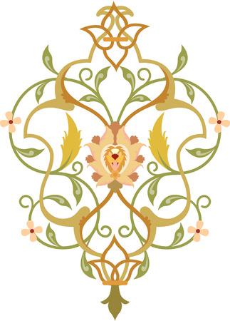 Elegant decorative pattern Stock Vector - 24003850