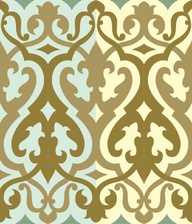 Seamless pattern stock vector, used for tiling background Vector