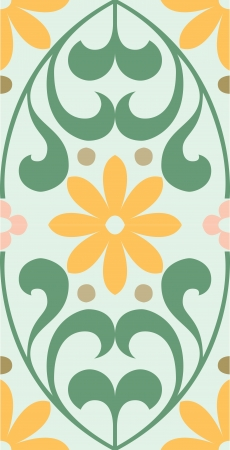 Seamless pattern, flowers stock vector, used for tiling background Vector