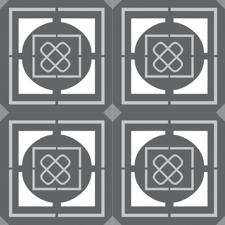 Tiled blocks background, in editable vector file, Grayscale  Vector
