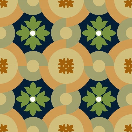 Seamless pattern stock vector, use for tiled background, Colored Vector