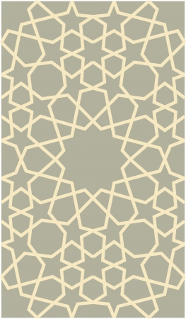 simplify: Arabesque seamless pattern, stock vector, use for tiled background, Colored Illustration