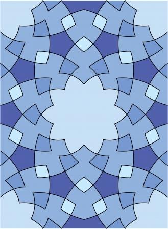 ksztaÅ't: Arabeska bez szwu wzór, Grafika wektorowa, wykorzystanie do tła, kolorowe kafelki