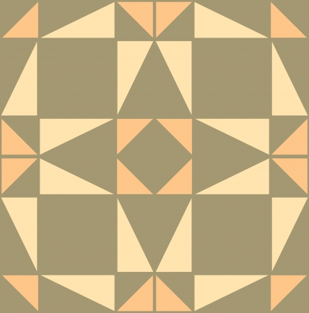 Arabesque seamless pattern, stock vector, use for tiled background, Colored Vector