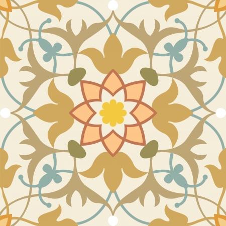 Nahtlose Muster Stock Vektor, verwenden Sie für gekachelten Hintergrund, Farbiger Vektorgrafik