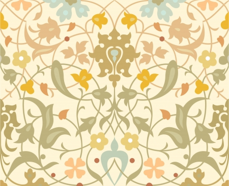 Seamless pattern stock vector, use for tiled background, Colored Stock Vector - 24148203