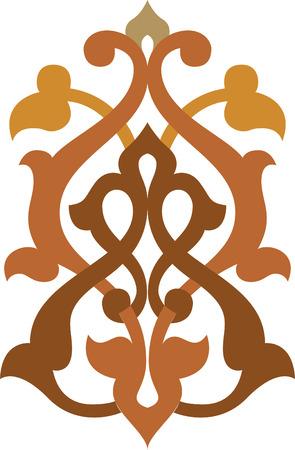 Decorative design element, vector file, Colored Vector