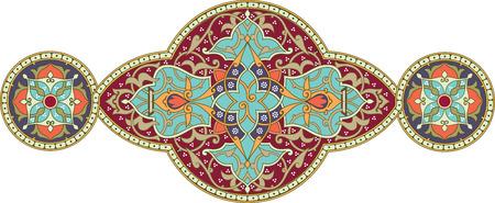 Decorative design element, vector file, Colored