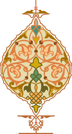 Decorative design element, vector file, Colored Vector