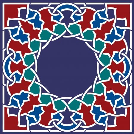 Arabesque design element, vector file, Colored Stock Vector - 24306537