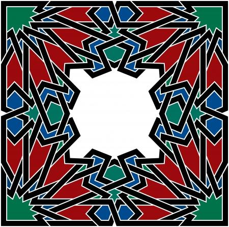 Arabesque design element, vector file, Colored Stock Vector - 24306547