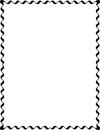 Simple lines, border frame, vector design, Monochrome Vector