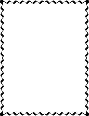 border frame: Simple lines, border frame, vector design, Monochrome