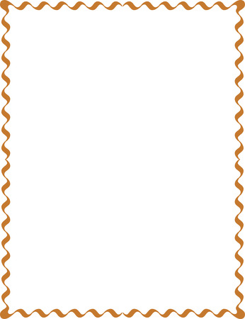 Simple lines, border frame, vector design, Colored