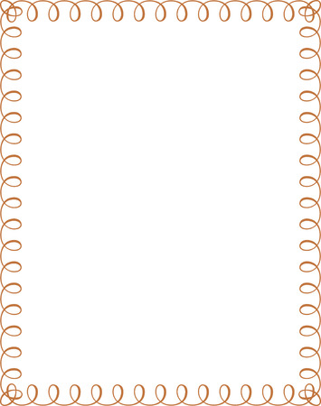 simple lines border frame vector design colored royalty free