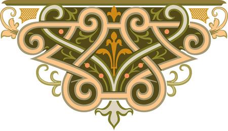 Decoratief element, vector bestand