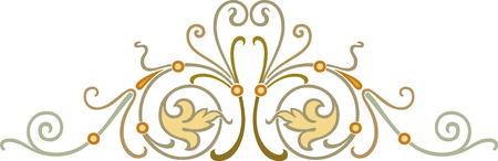 Decorative design element, vector file Stock Vector - 24306745