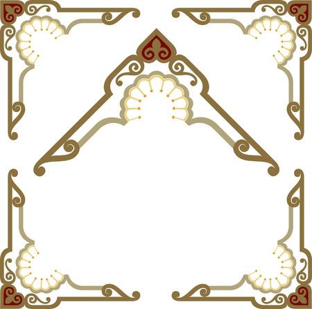 Stylish border frame Vector