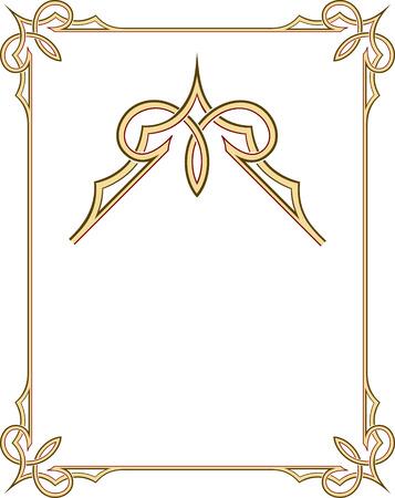 antique frames: Marco de la frontera con estilo con agradables rincones