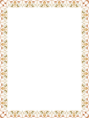 Ornamental border frame Stock Vector - 25383489