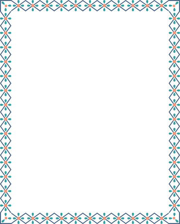 Ornamental border frame Stock Vector - 25394004