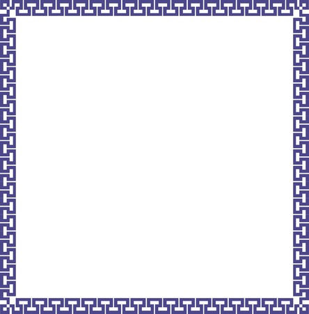 Ornamental border frame  Vector