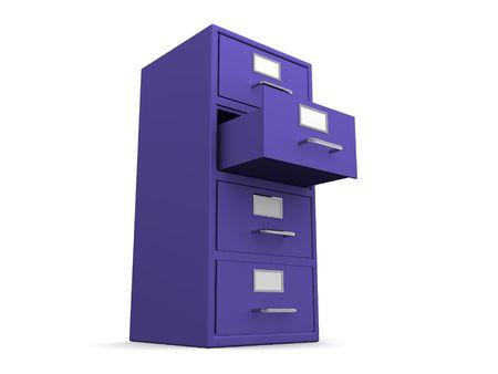 deposit slips: Box. 3d Stock Photo