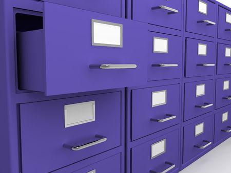 repository: Box. 3d Stock Photo