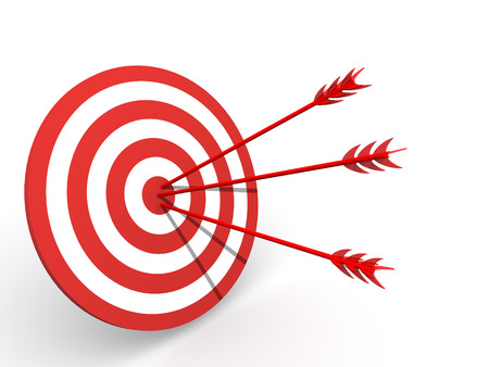 pr�cis: Target.3D  Banque d'images