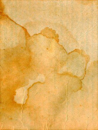 correspondencia: cosecha de años antiguo documento de antecedentes Foto de archivo