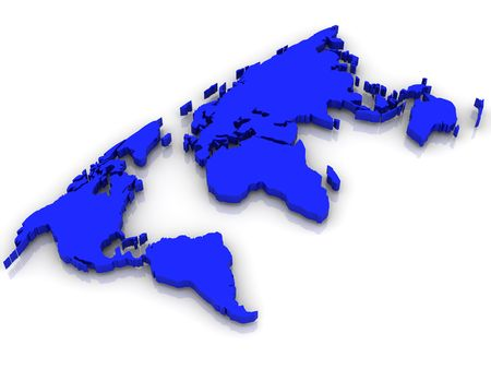 Map of World. photo