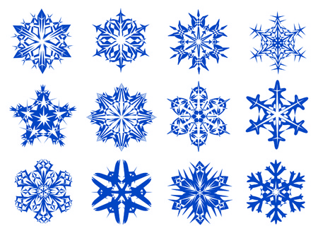 digitally generated: Snowflakes