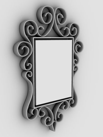 Abstract frame, ornament photo