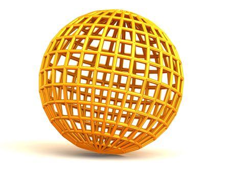 gearings: Sphere. 3d