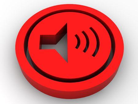 audiophile: icon Volume. 3d
