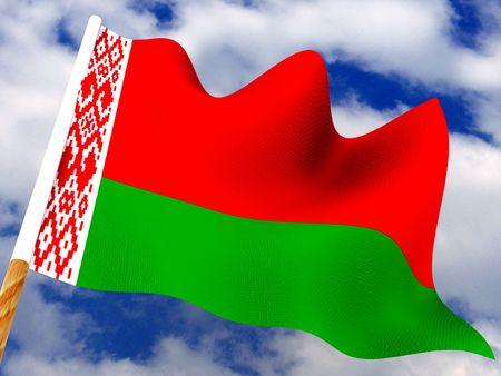 belarus: Flag. Belarus. 3d