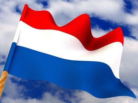Flag. Netherland. 3d Stock Photo - 3444438