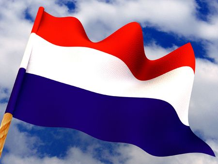 luxembourg: Flag. Luxembourg
