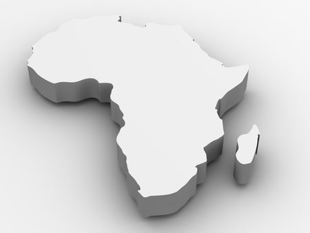 Africa. 3d Stock Photo - 3653047