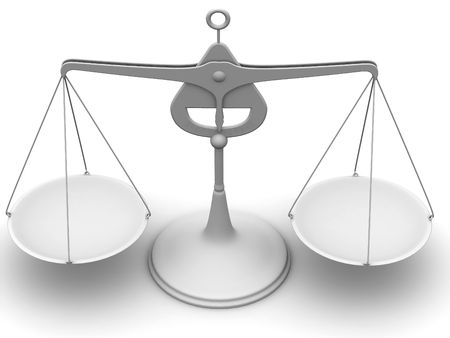 Scales. 3d Stock Photo - 3653054