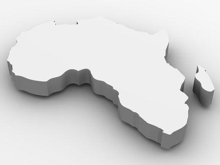 Africa. 3d photo