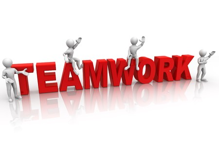 3d: Teamwork. 3d