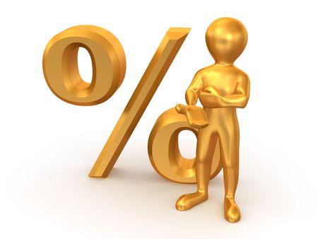 interest: Men with percent. 3d