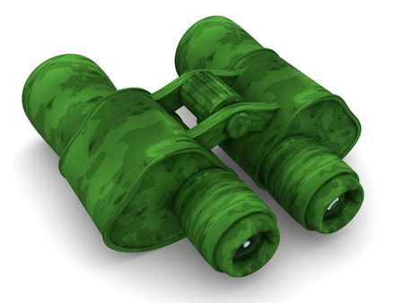 visualize: Binoculars. 3d