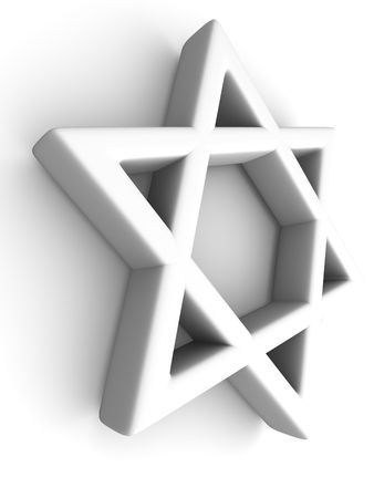 Symbol of Israel. 3d Stock Photo - 5411904