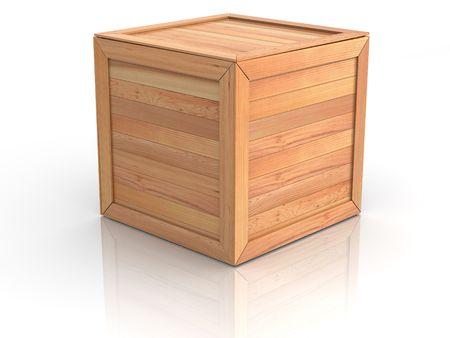 Caisse. 3D