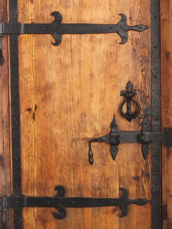 antique keyhole: vintage aged background old door