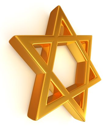 Symbol of Israel. 3d Stock Photo - 5495567